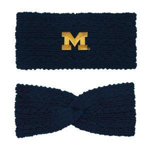 University of Michigan Adaline Chunky Twist Wrap
